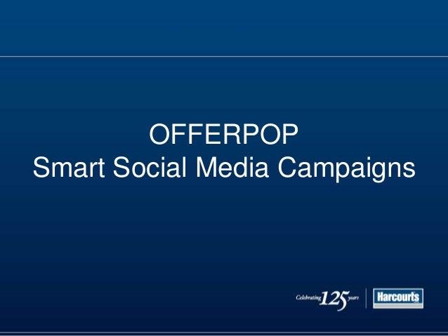 OfferPop - Social Media Opportunities