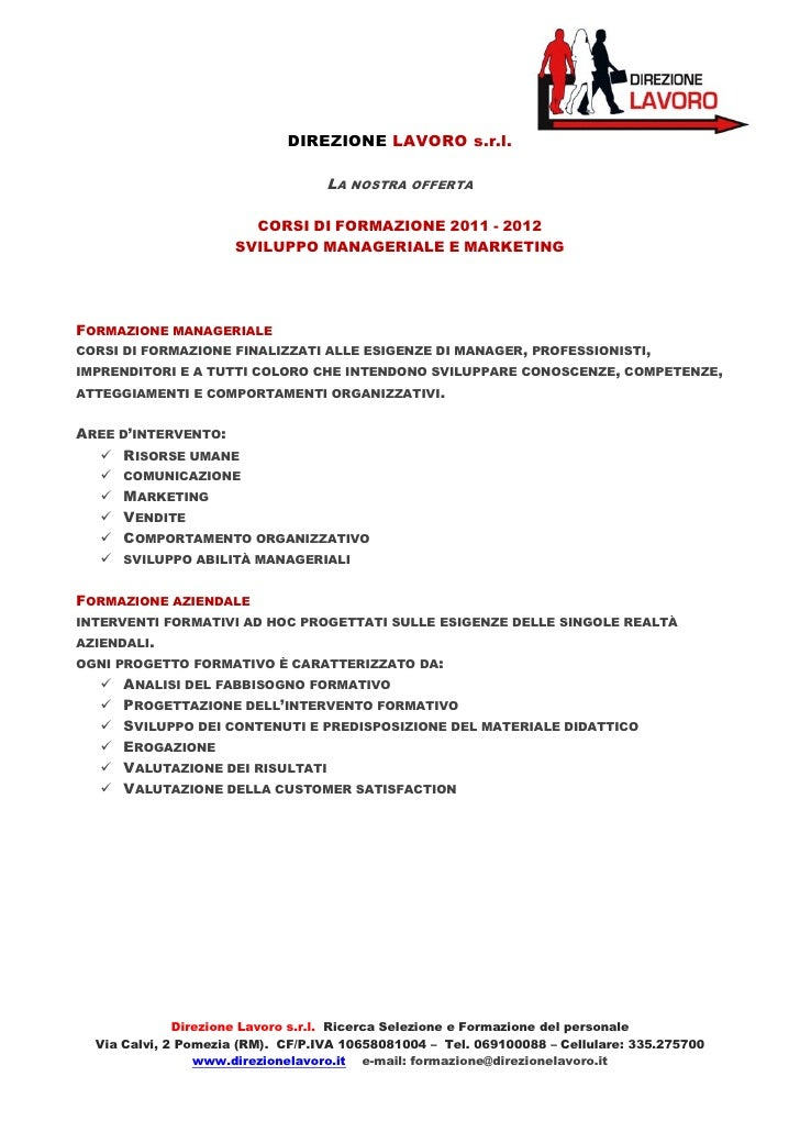 Offerta formativa 2011 2012