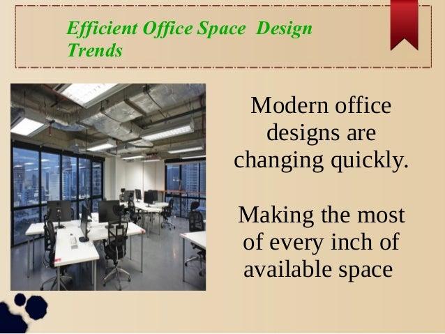 Efficient Office Space Design Trends