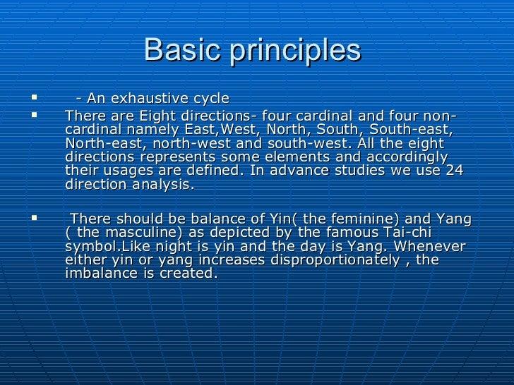 basic principles basic feng shui office