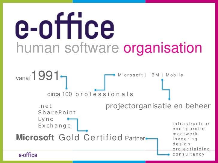 Office365 case intro petra stojanovic van kan