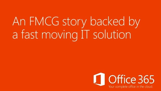 Case Study: Office 365 - Dabur India PVT. LTD.