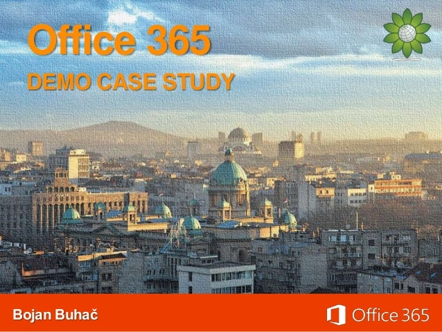 Office365 demo case study