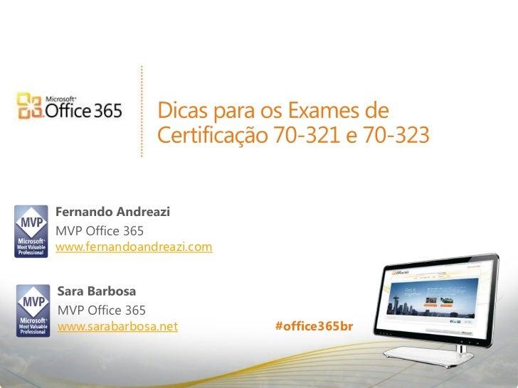 Dicas para os Exames Beta de Certificação - Office 365