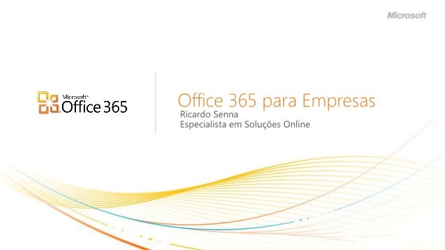 Office 365 - Sales Presentation