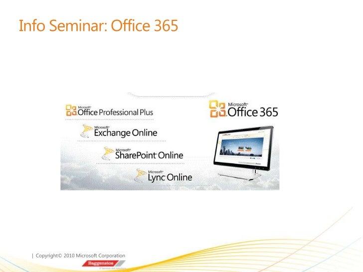 FirmenvorstellungWas ist Cloud Computing?Vorstellung Office 365DemoEinsatz von Office 365