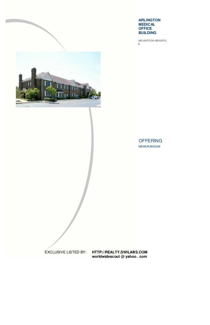 ARLINGTON                                              MEDICAL                                              OFFICE        ...