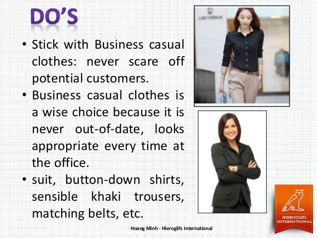 Office Dress Code Do's and Don'ts