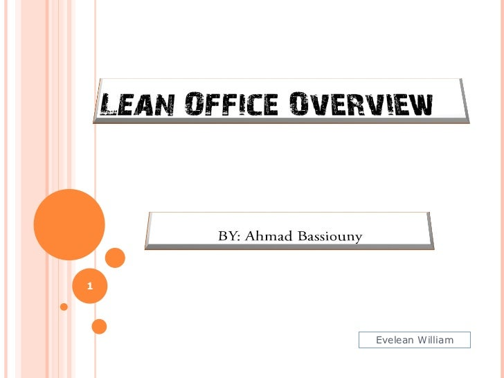 Office Lean Overview