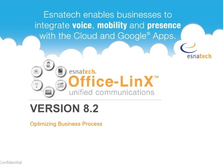 VERSION 8.2 Optimizing Business Process Confidential