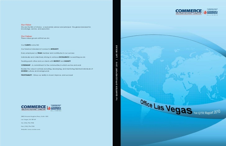 1st QUARTER OFFICE REPORT 2010   | LAS VEGAS