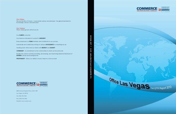 Las Vegas Commerce Office Market Review