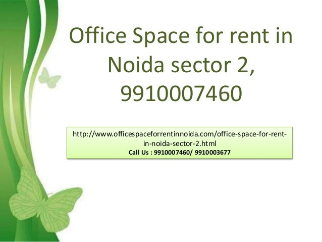 Office Space For Rent In 9910007460 Noida Sector 2