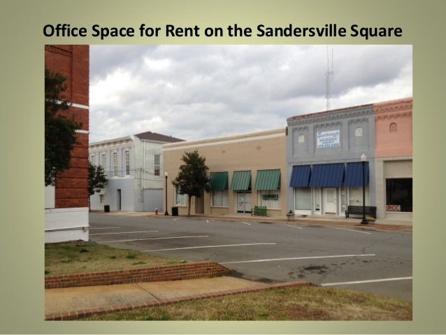 Office Space for Rent on the Sandersville Square