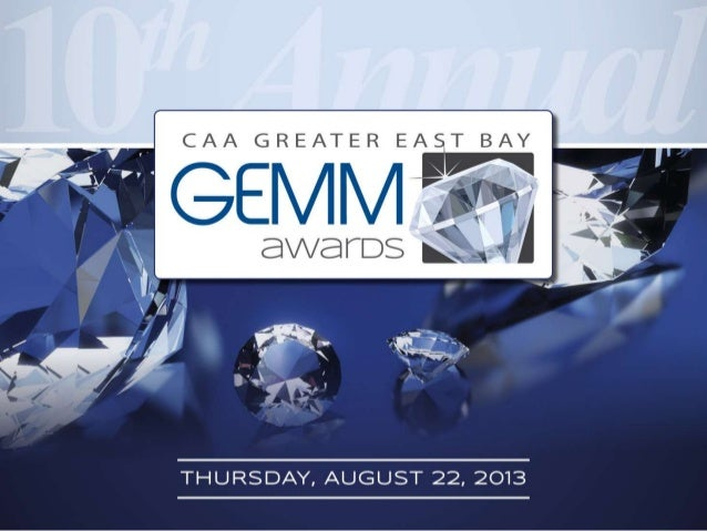 GEMM AWARDS presentation 2013