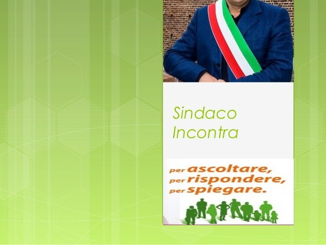 SindacoIncontra