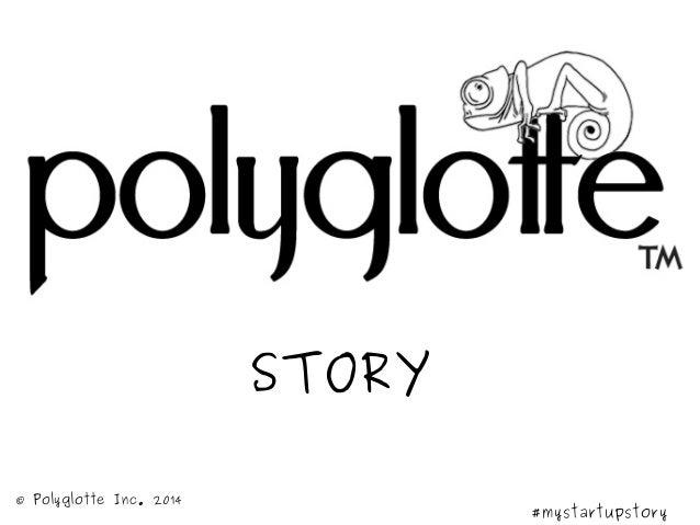 Polyglotte startup story