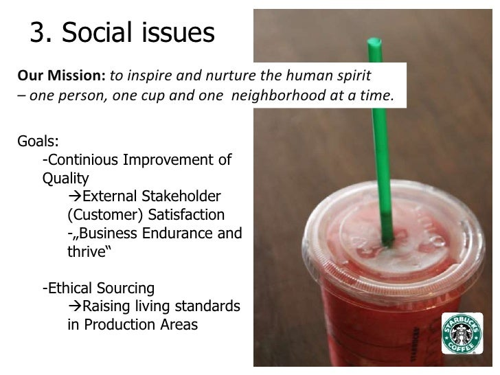 starbucks political issues Starbucks australia's  this privacy policy tells you about how we  we are sensitive to privacy issues and fully committed to complying with our obligations.
