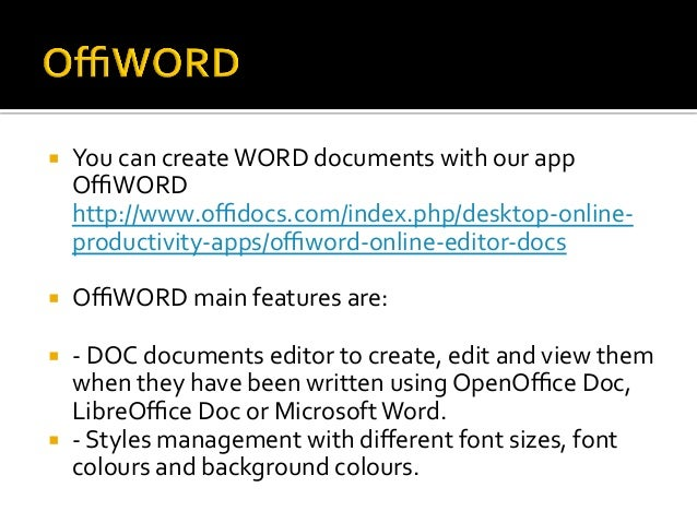 Writing documents with OpenOffice.org Writer