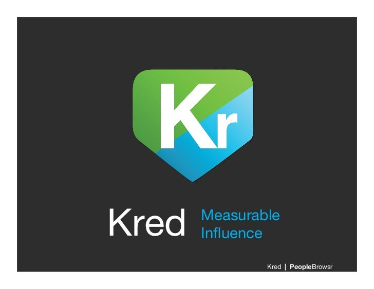 Kred Moments - Social Influence for Real World Achievements