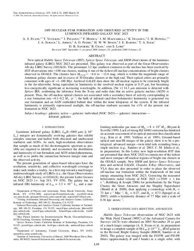 The Astrophysical Journal, 675: L69–L72, 2008 March 10᭧ 2008. The American Astronomical Society. All rights reserved. Prin...