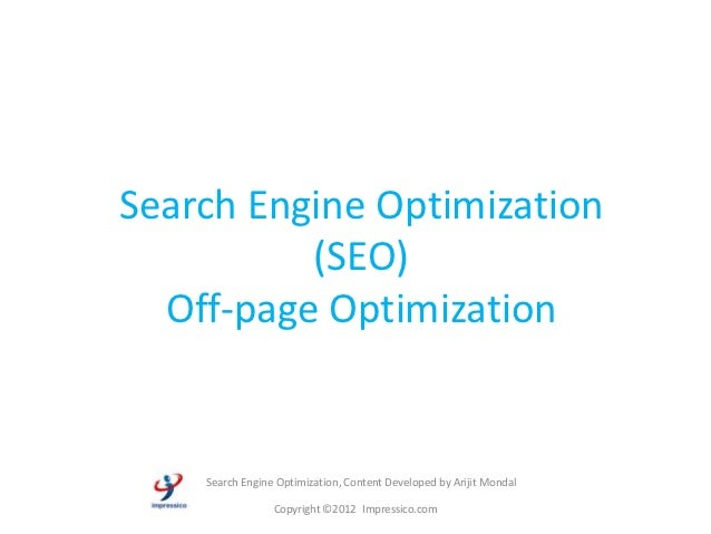 Offpage SEO Training