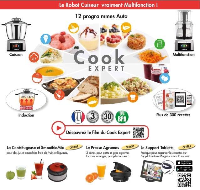 Offre magimix robot cook expert 2015 - Livre de recette pour robot multifonction cuiseur ...
