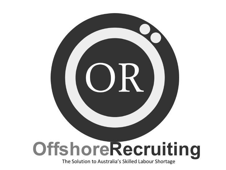 Offshore Recruiting Presentation