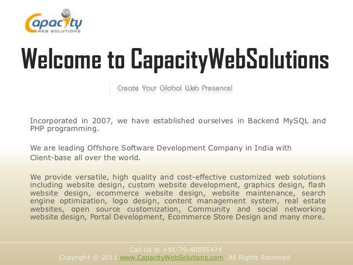 Website Design & Development Company, India