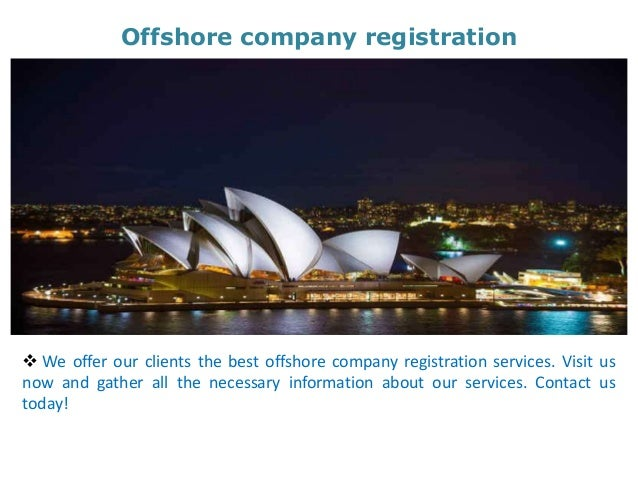 Offshore forex company registration
