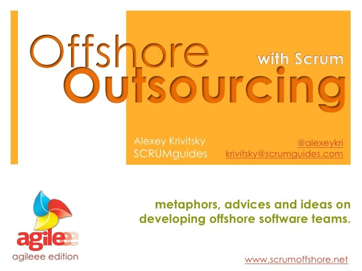 Offshore Outsourcing with Scrum