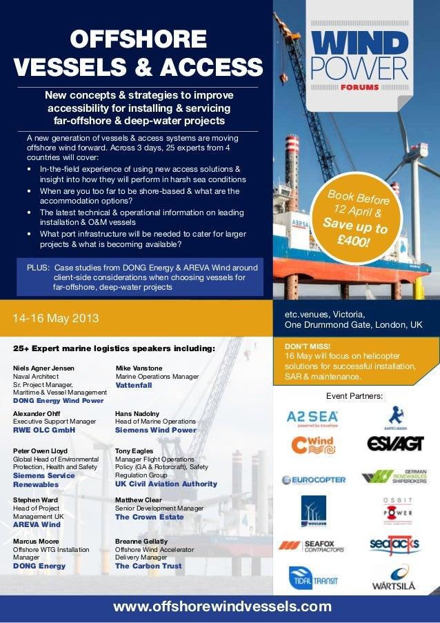 Offshore Vessels & Access Forum-Event Brochure
