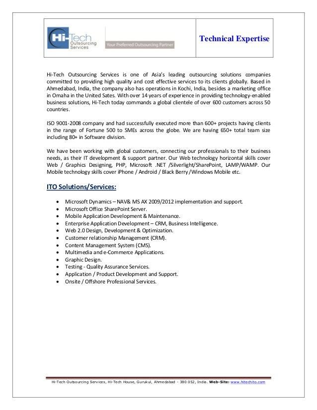 Offshore Web Software Development   Mobile Application development - Hi-Tech ITO