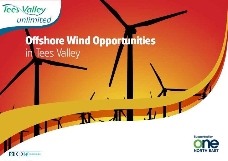 Offshore Wind Opportunitiesin Tees ValleyVisit us online