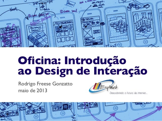 Oficina de Introdução ao Design de Interação