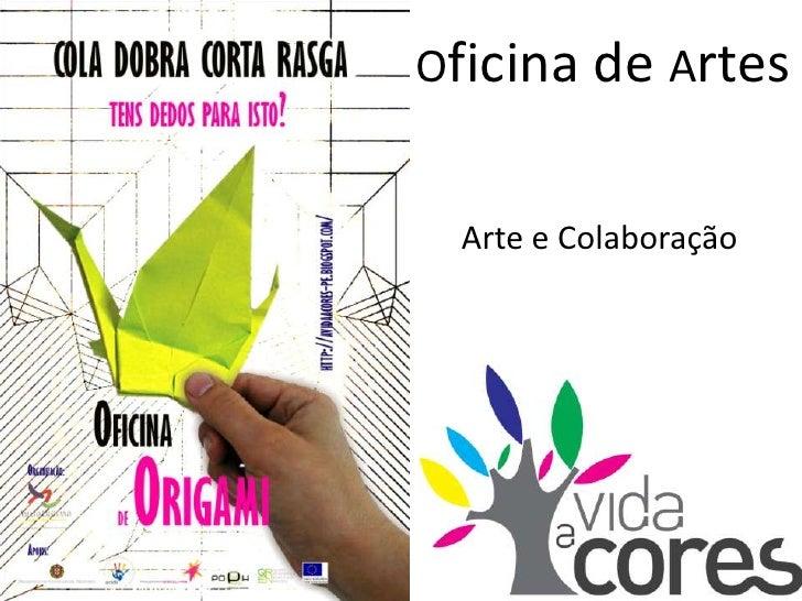 Arte e Colaboração Origami