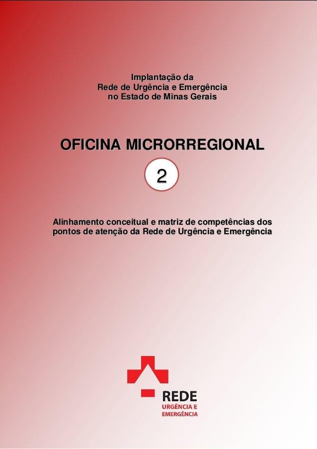 Oficina Microrregional I  Sudeste Alinhamento - 2