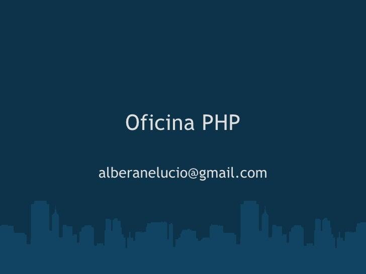 Oficina php