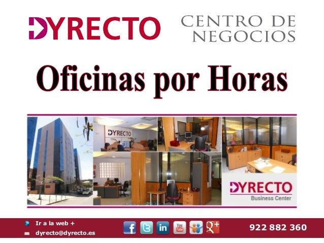 Oficinas por horas en Tenerife