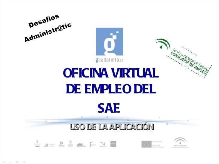 Oficina virtual de empleo sae for Oficina virtual sistema red