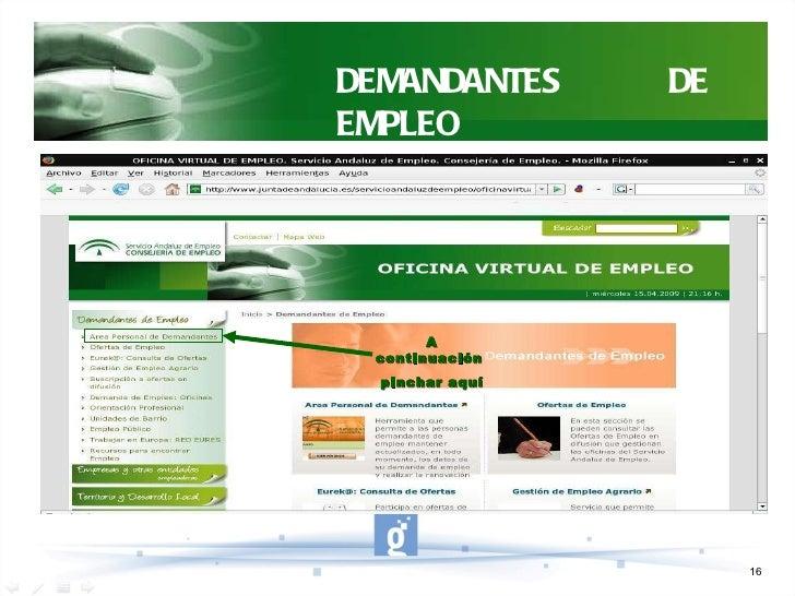 Oficina virtual de empleo sae for Oficina virtual inem para sellar