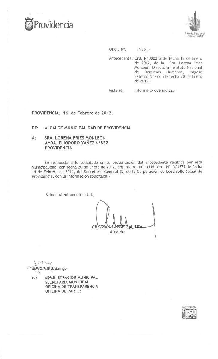 Oficio 1415   providencia - respuesta a ordinario 13