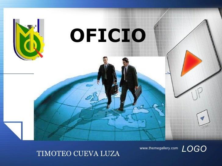 OFICIO TIMOTEO CUEVA LUZA