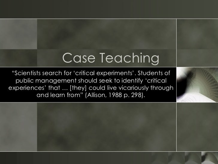 O Flynn Case Teaching
