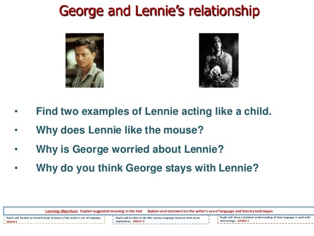 why george and lennie traveled together essay