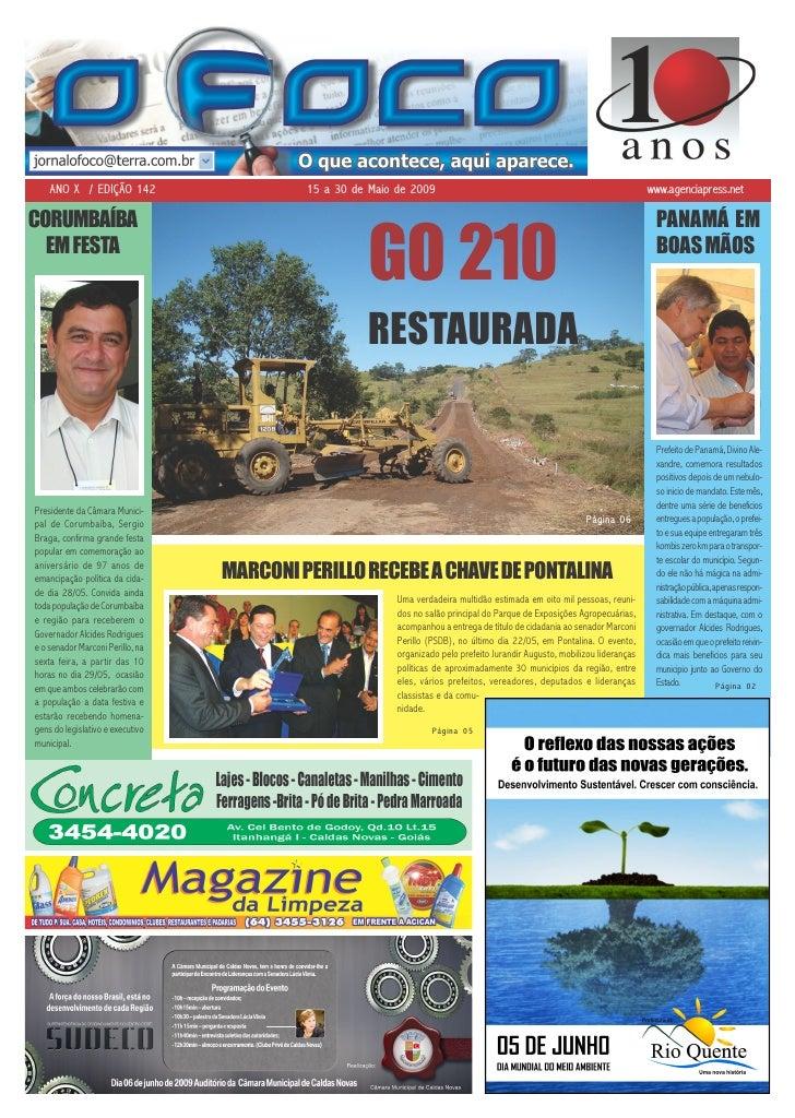 ANO X / EDIÇÃO 142                       15 a 30 de Maio de 2009                                                          ...