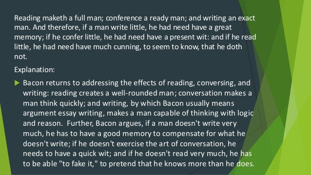 reading makes a full man essay for kids