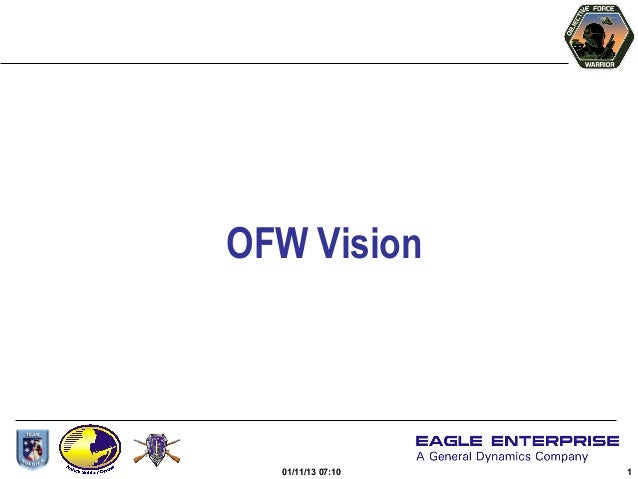 OFW Vision  01/11/13 07:10   1