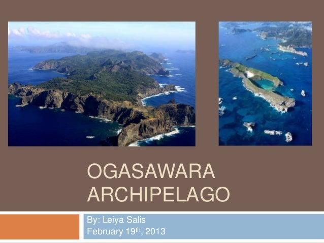 Ogasawara archipelago ( leiya Salis )