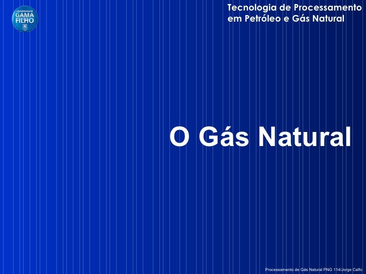 Cap tulo i g s natural for Gas ciudad o gas natural